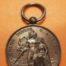 Medallas condecorativas: MEDALLA 1874 A SUS DEFENSORES DEL SITIO DE BILBAO TERCERA GUERRA CARLISTA VIZCAYA HONOR Y PATRIA CO. Lote 159922978