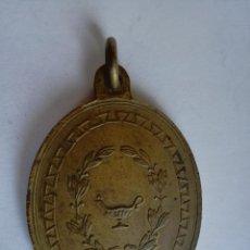 Medallas condecorativas: ANTIGUA MEDALLA DE BRONCE HONOR AL MERITO A LA APLICACION - MEDIDA: 4,5 CM. Lote 160590438