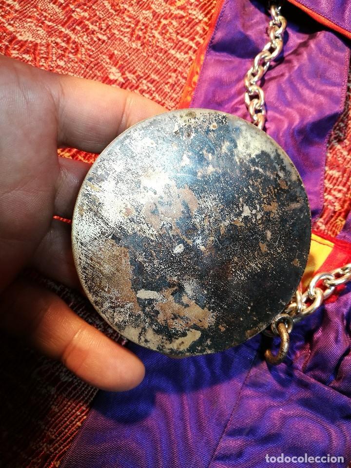 Medallas condecorativas: GRAN MEDALLON III EXHIBICION NACIONAL DE ARTE CULINARIO TARRAGONA 1969 SKAL -CHEF-COCINA---ESPAÑA - Foto 10 - 160658946