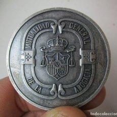 Medallas condecorativas: MONEDA MEDALLA MUTUALIDAD GENERAL DE LA ABOGACIA DEL ESTADO 25 ANIVERSARIO. Lote 160786874