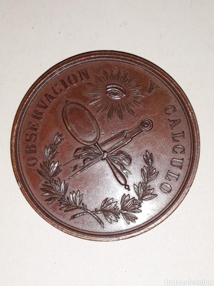 MEDALLA DE LA REAL ACADEMIA DE CIENCIAS (Numismática - Medallería - Condecoraciones)