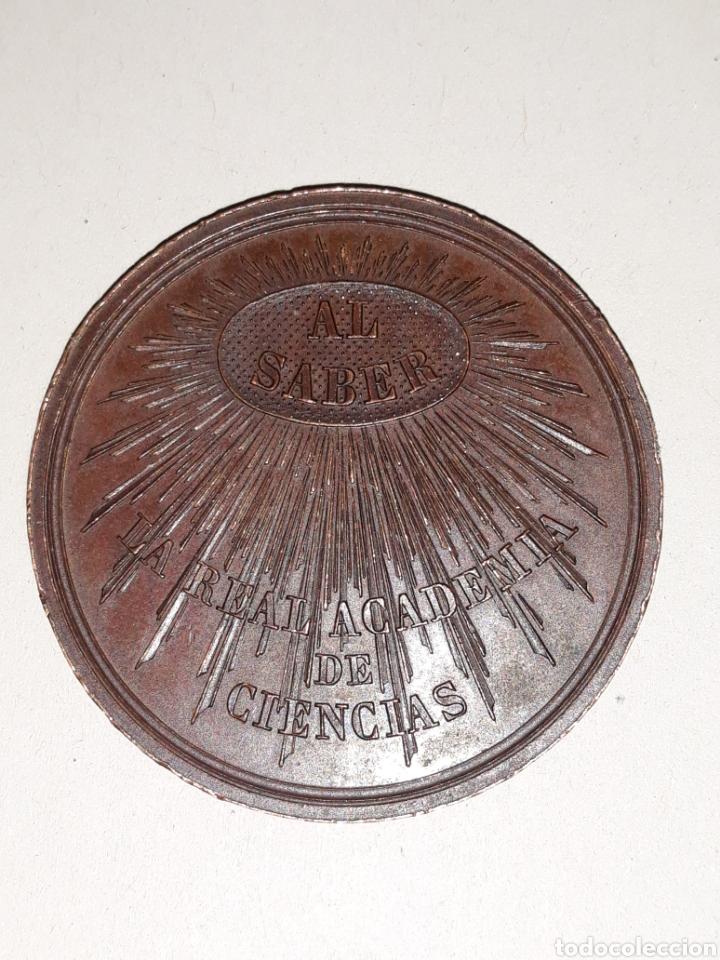 Medallas condecorativas: Medalla de la Real academia de ciencias - Foto 2 - 161649641