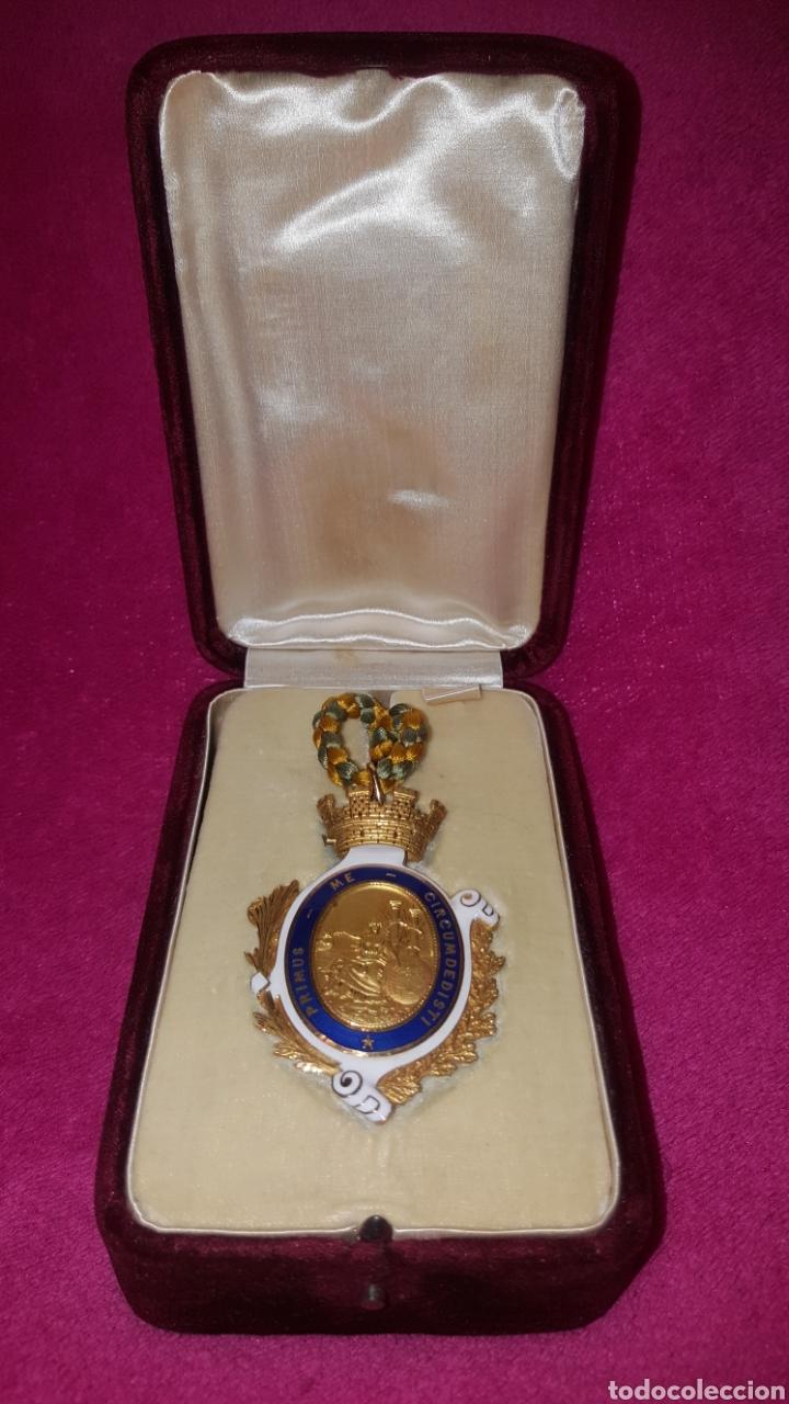MEDALLA DE LA REAL SOCIEDAD GEOGRÁFICA 1876 (Numismática - Medallería - Condecoraciones)