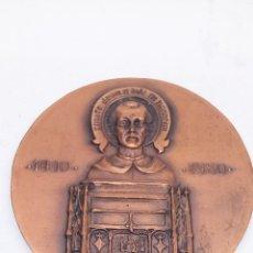 Medallas condecorativas: MEDALLA DE BRONCE CONMEMORACIÓN VICENTE FERRER. Lote 171490268