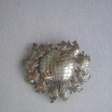 Medallas condecorativas: PLACA DE PECHO DE LA ACADEMIA DE CIENCIAS HUMANÍSTICAS Y RELACIONES. R. DOMINICANA Y MEXICO. 7 CM.. Lote 174320024