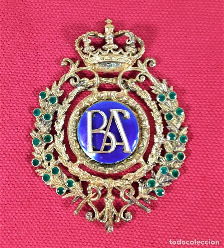 Medallas condecorativas: CONDECORACIÓN AL MÉRITO DE LAS BELLAS ARTES. MARMOLEJO. ESPAÑA.SIGLO XX. - Foto 2 - 178781840