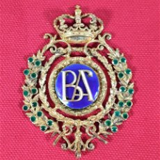 Medallas condecorativas: CONDECORACIÓN EN PLATA DORADA. MARMOLEJO. SIGLO XX.. Lote 178781840