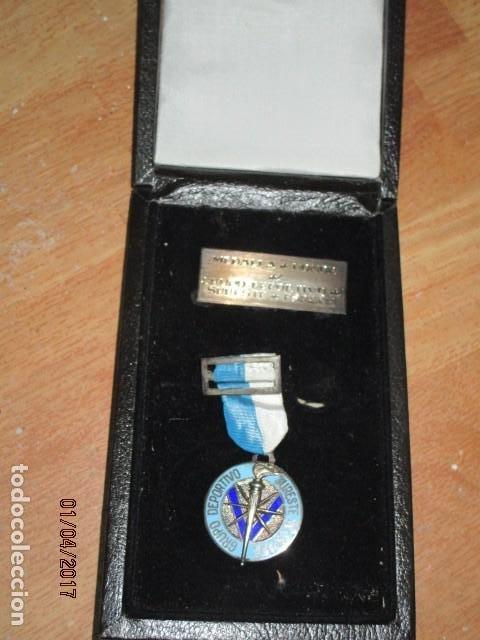 Medallas condecorativas: MEDALLA CONDECORACION ALICANTE DEPORTE SURESTE GRUPO DEPORTIVO CON ESTUCHE Y PLACA - Foto 2 - 184242546