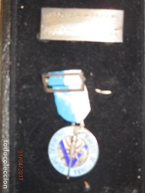 Medallas condecorativas: MEDALLA CONDECORACION ALICANTE DEPORTE SURESTE GRUPO DEPORTIVO CON ESTUCHE Y PLACA - Foto 4 - 184242546
