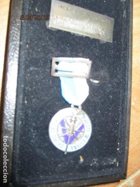 Medallas condecorativas: MEDALLA CONDECORACION ALICANTE DEPORTE SURESTE GRUPO DEPORTIVO CON ESTUCHE Y PLACA - Foto 6 - 184242546