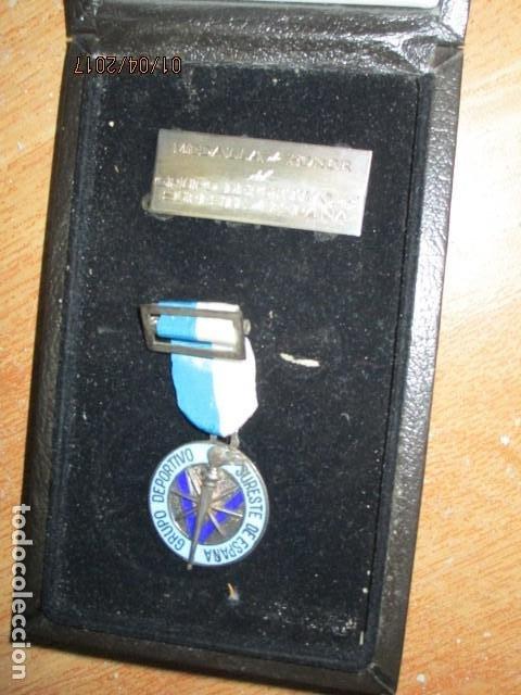 Medallas condecorativas: MEDALLA CONDECORACION ALICANTE DEPORTE SURESTE GRUPO DEPORTIVO CON ESTUCHE Y PLACA - Foto 8 - 184242546