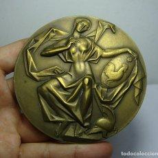 Medallas condecorativas: MEDALLA DE LA ACADEMIA DE BELLAS ARTES SANTA CECILIA. PTO. SANTA MARÍA. GRABADOR FERNANDO JESÚS.. Lote 185997351