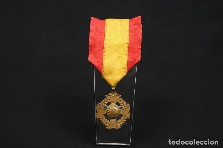 Medallas condecorativas: Antigua Medalla Al Merito - Foto 2 - 190987050