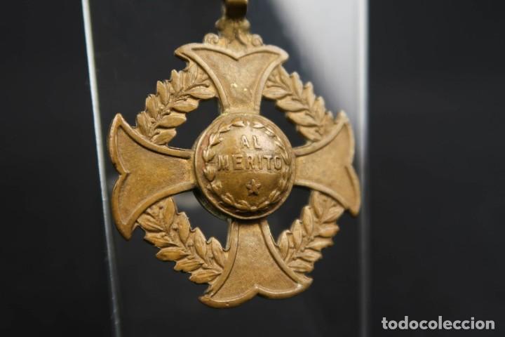 Medallas condecorativas: Antigua Medalla Al Merito - Foto 4 - 190987050