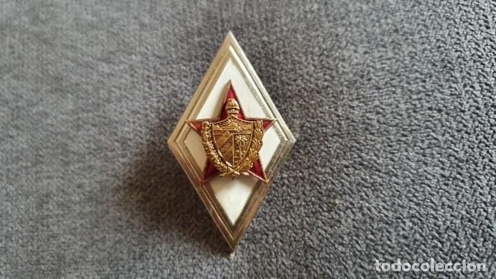 CUBA REVOLUCION OFICIAL GENERAL PIN INSIGNIA UNIFORME CHE GUEVARA FIDEL CASTRO 1960 (Numismática - Medallería - Condecoraciones)