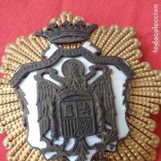 Medallas condecorativas: MEDALLA INSIGNIA CONDECORACIÓN DOCTORES DEL CLAUSTRO EXTRAORDINARIO HONORARIS CAUSA ÉPOCA FRANCO.. Lote 193811991