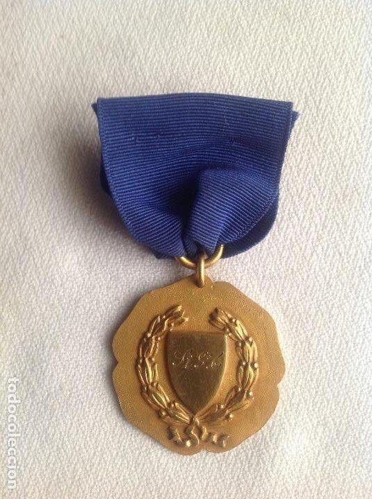 Medallas condecorativas: 1948 MEDALLA ANTIGUA SENIOR ELOCUTION, CON INICIALES - Foto 4 - 193965273