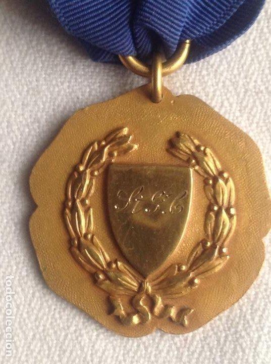 1948 MEDALLA ANTIGUA SENIOR ELOCUTION, CON INICIALES (Numismática - Medallería - Condecoraciones)