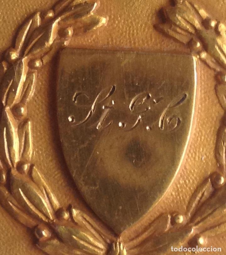 Medallas condecorativas: 1948 MEDALLA ANTIGUA SENIOR ELOCUTION, CON INICIALES - Foto 3 - 193965273