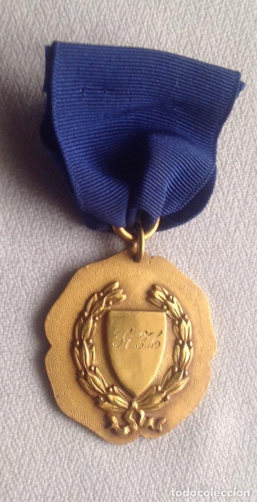 Medallas condecorativas: 1948 MEDALLA ANTIGUA SENIOR ELOCUTION, CON INICIALES - Foto 5 - 193965273
