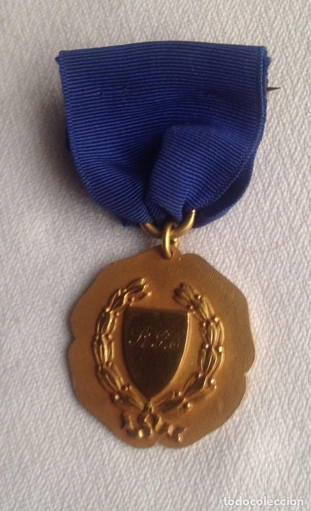Medallas condecorativas: 1948 MEDALLA ANTIGUA SENIOR ELOCUTION, CON INICIALES - Foto 6 - 193965273