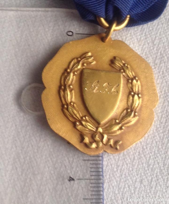 Medallas condecorativas: 1948 MEDALLA ANTIGUA SENIOR ELOCUTION, CON INICIALES - Foto 14 - 193965273