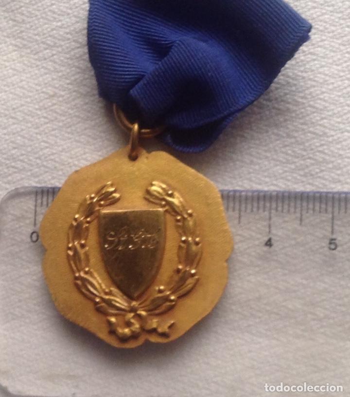 Medallas condecorativas: 1948 MEDALLA ANTIGUA SENIOR ELOCUTION, CON INICIALES - Foto 15 - 193965273