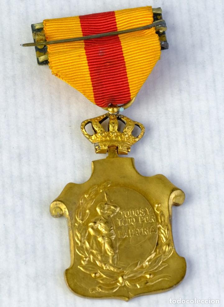 MEDALLA HOMENAJE DE LOS AYUNTAMIENTOS A LOS REYES - 23 ENERO 1925 - 55 X 35 MM (Numismática - Medallería - Condecoraciones)