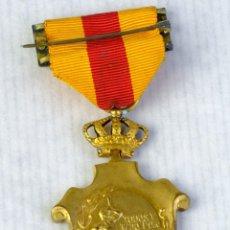 Medallas condecorativas: MEDALLA HOMENAJE DE LOS AYUNTAMIENTOS A LOS REYES - 23 ENERO 1925 - 55 X 35 MM. Lote 194614331