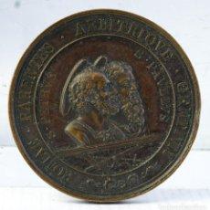 Medallas condecorativas: MEDALLA EN COBRE PIO IX PONTIFICE MAXIMO SAECULRIA SOLEMNIA 1867 - 48 MM. Lote 194614350