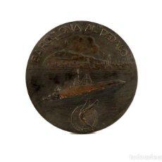 Medallas condecorativas: MEDALLA CONMEMORATIVA DE LA ENTREGA DE BANDERA DE COMBATE -1968 BARCELONA AL DÉDALO. Lote 194742192