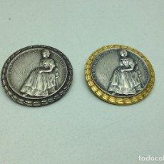 Medallas condecorativas: LOTE MEDALLAS TEMATICA SUIZA - KANTONALSCHUTZENFEST WUHLEN -1947. Lote 198744376