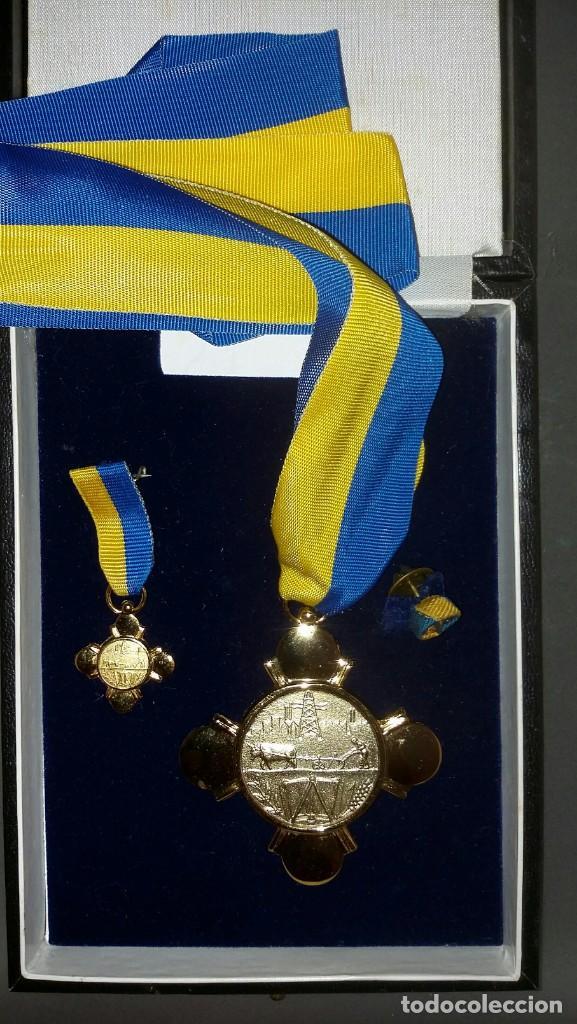 Medallas condecorativas: CONDECORACIÓN DE PLATA. ORDEN MÉRITO EN EL TRABAJO. 1a. CLASE. VENEZUELA - Foto 5 - 199359226