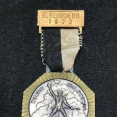 Medallas condecorativas: MEDALLA VINTAGE COLISION DE RODAS / ELVERSBERG 1972 ALEMANIA. Lote 204205333