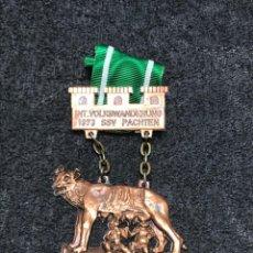 Medallas condecorativas: MEDALLA VINTAGE ROMULUS ET REMUS 1973 ALEMANIA. Lote 204206468