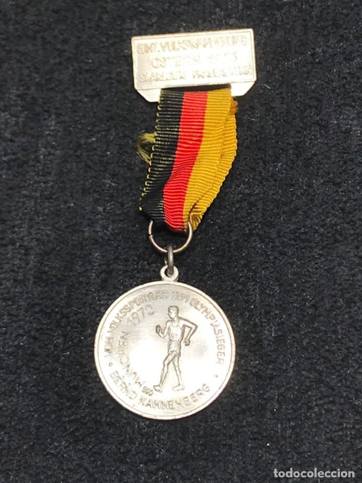 MEDALLA VINTAGE GANADOR OLIMPICO MUNICH 1972 (Numismática - Medallería - Condecoraciones)