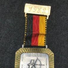Medallas condecorativas: MEDALLA VINTAGE STERNBILD WEMMETSWEILER 1972 - ALEMANIA. Lote 204222698