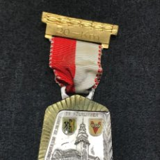 Medallas condecorativas: MEDALLA VINTAGE RUTA 20 KM 1972 - ALEMANIA. Lote 204222773