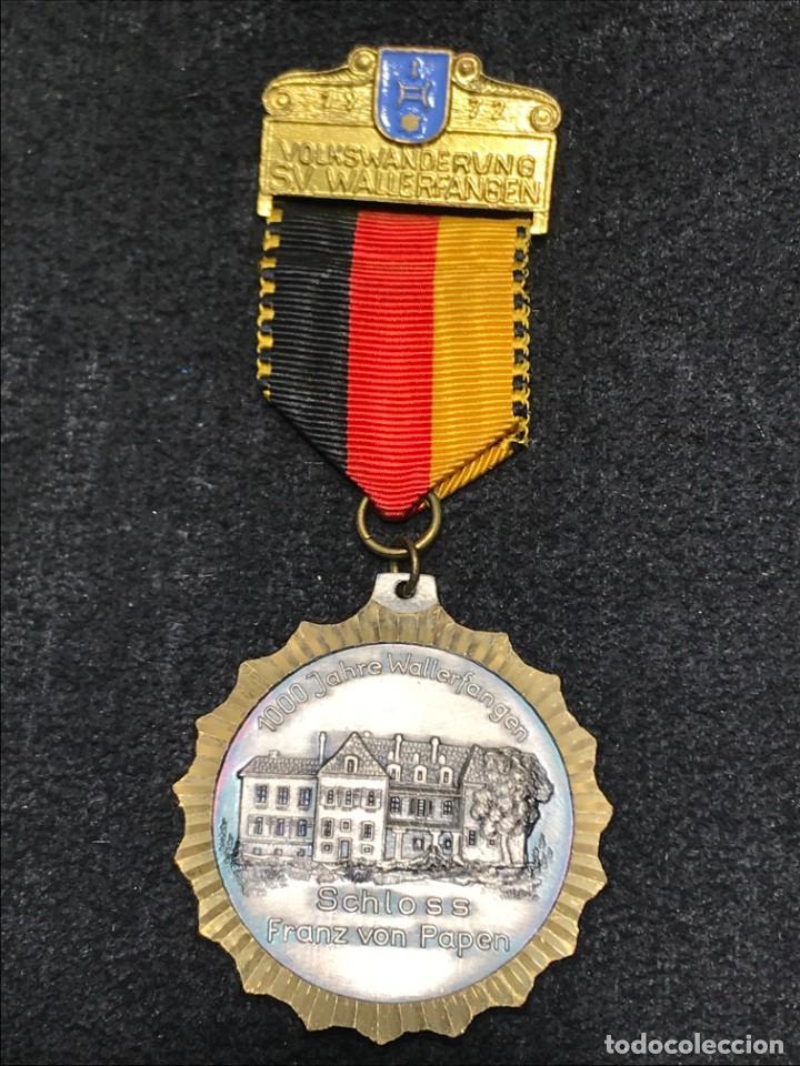 MEDALLA VINTAGE 1000 ANIV. CASTILLO FRANZ VON PAPEN 1972 - ALEMANIA (Numismática - Medallería - Condecoraciones)