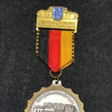 Medallas condecorativas: MEDALLA VINTAGE 1000 ANIV. CASTILLO FRANZ VON PAPEN 1972 - ALEMANIA. Lote 204222935