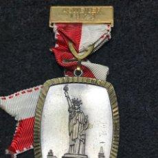 Medallas condecorativas: MEDALLA VINTAGE ESTATUA LIBERTAD 1973 - ALEMANIA. Lote 204223308