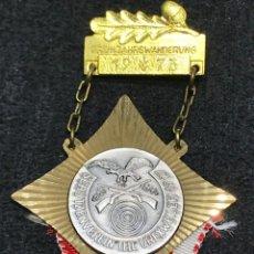 Medallas condecorativas: MEDALLA VINTAGE ASOCIACION PROTECTORA 1973 - ALEMANIA. Lote 204223965