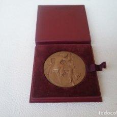Medallas condecorativas: MEDALLA HONOR AL TRABAJO SINDICATO GENERAL DE LA CONSTRUCCIÓN ELECTRICA FRANCESA 1956. Lote 204262346