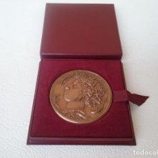Medallas condecorativas: MEDALLA HONOR AL TRABAJO SINDICATO GENERAL DE LA CONSTRUCCIÓN ELÉCTRICA FRANCESA 1969. Lote 204262463