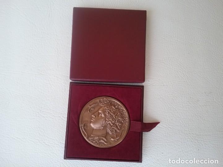 Medallas condecorativas: MEDALLA HONOR AL TRABAJO SINDICATO GENERAL DE LA CONSTRUCCIÓN ELÉCTRICA FRANCESA 1969 - Foto 2 - 204262463