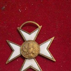 """Medallas condecorativas: MEDALLA DE CRUZ BLANCA MASÓNICA """"E PLURIBUS UNUM"""". Lote 204273480"""