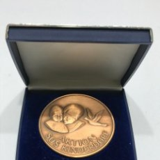 Medallas condecorativas: MEDALLA CAMPEONATO DE VUELO DE PALOMAS JÓVENES. Lote 205048571