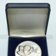 Medallas condecorativas: MEDALLA CAMPEONATO DE VUELO DE PALOMAS JOVENES (2). Lote 205049175