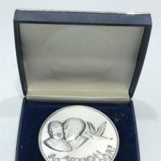 Medallas condecorativas: MEDALLA CAMPEONATO DE VUELO DE PALOMAS JÓVENES (3). Lote 205049383
