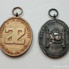 Medallas condecorativas: MEDALLAS PREMIO A LA CONSTANCIA. CON CONTRASTE. ASTILLEROS ESPAÑOLES CÁDIZ. ASTILLEROS DE CÁDIZ S.A.. Lote 205403381